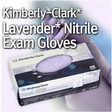 [킴벌리클라크]LAVENDER NITRILE Exam Glove KC100